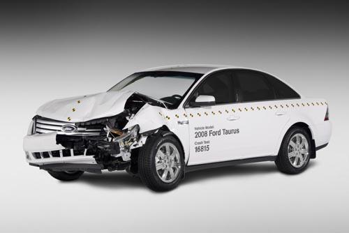 Crash Tested Ford Taurus Show Safety Leadership